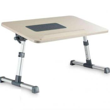 Smart Folding Laptop table with Cooling Fan